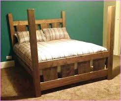 4 Post Bed Frame Queen Size 4 Poster Bed Four Post Frame Image Idea ...