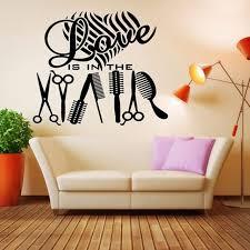 diy salon wall decor hairdressing utensils beauty salon barber diy wallpap on ay hair salon wall