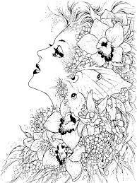 Small Picture Fantasy coloring pages for adults Free Printable Fantasy coloring