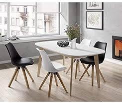 Amazonfr Table Scandinave Tables Salle à Manger Cuisine