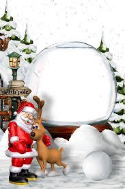 Santa Claus Christmas Eve New Year Christmas Border