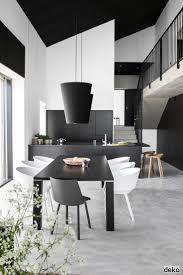 Black And White Modern Kitchen 25 Best Images About Black White Kitchens On Pinterest Modern