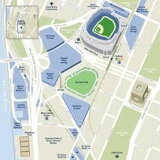 New York Yankees Stadium Seating Chart Yankee Stadium Directions And Parking Info New York Yankees