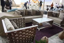 modern patio furniture. Modern Outdoor Furniture With A Conservative Feel -- This Grouping By Skyline Is Called Strips Patio