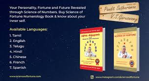 Pandit Sethuraman Numerology Chart Mould Your Destiny With Science Of Fortune Numerology