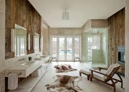 rustic modern bathroom. View In Gallery Modern Rustic Bath An Aspen Chalet By Frank De Basi Interiors Bathroom