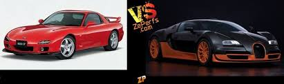 Mazda furai vs bugatti bolide race with techno gamerz   gta 5 gameplay #106 mazda furai bugatti. Mazda Rx7 Iii Vs Bugatti Veyron Super Sport Duel 5193513