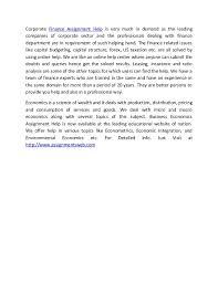 statistics assignment help statistics homework help uk c  2 corporate finance assignment help