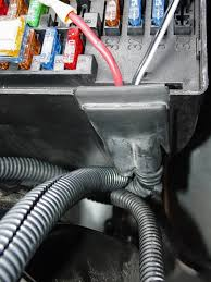 2004 chrysler crossfire auxiliary fuse box How To Wire Into Fuse Box route for wires into fuse panel box how to wire into a fuse box