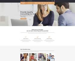 Page Design Templates 32 Best Consulting Website Templates 2019 Colorlib