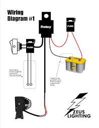 led light bar relay wire up polaris rzr forum forums net and led speedway universal 22 circuit wiring harness at Universal Wiring Harness Diagram