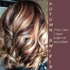 Autumn Swirls Cherry Cola Lowlights With
