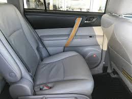 white blizzard pearl 2009 toyota highlander hybrid limited left rear interior door panel photo