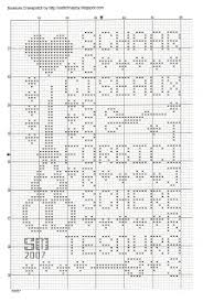 Isabelle Vautier Free Charts Cross Stitch Happy Scissors Addiction And Scissors