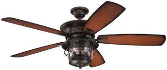 Image Oil Brushed Bronze Clw Lighting Westinghouse 7800000 Westinghouse 7800000 Brentford 52inch Aged Walnut Indooroutdoor Ceiling Fan Light Kit With Clear Seeded Glass