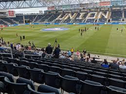 Talen Energy Stadium Section 104 Rateyourseats Com
