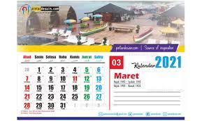 Puasa ayyamul bidh rajab 1442 h. Download Kalender 2021 Lengkap Dan Gratis Pintardesain Com