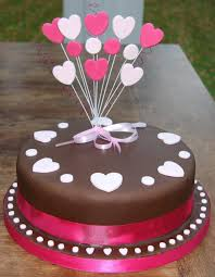 happy anniversary cake photo heart birthday