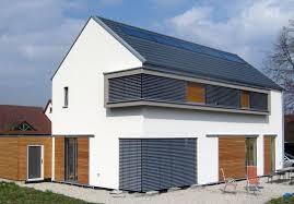 Einfamilienhaus Modern Holzhaus Satteldach Holzfassade Modern