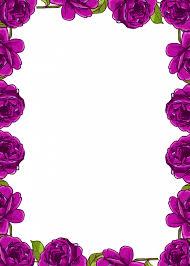 Flower Border Designs For Paper Pin By Sadia Komal On Border Designs In 2019 Rose Frame Frame