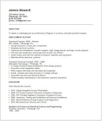 Examples Of Engineering Resumes Magnificent Example Of Resume For Engineering Choice Image Resume Format