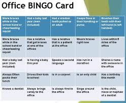 Office Bingo January Office Activities Company Newsletter