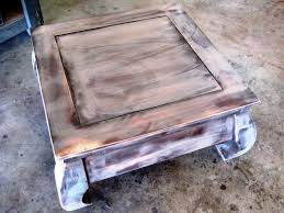 How to Paint and Stencil an Old Wood Table | how-tos | DIY
