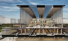 Train Terminal Design Terminal Station Astanas Largest Infrastructure Project Is
