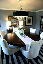 elegant dining table centerpiece ideas room round centerpieces decor when not in use gorgeous black leaf