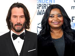 Keanu Reeves once rescued a pre-fame Octavia Spencer after she was stranded  on the roadside   The Independent   The Independent