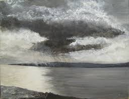 a tonel grey painting , see the natural wonder of our world