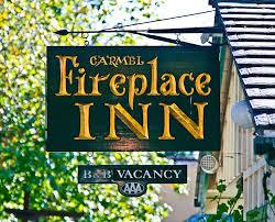 Carmel Fireplace Inn Bed U0026 Breakfast  CarmelbytheSea CaliforniaCarmel Fireplace Inn