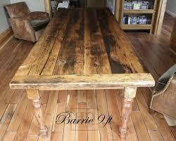 rustic harvest table toronto harvest tables images on on live edge table ideas wood