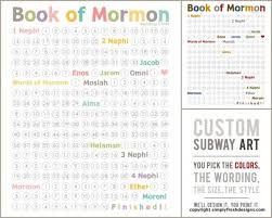 A Happy Surprise Reading Charts Lds Scriptures Book Of