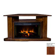 topeka innovative concepts 60 in w maple led electric fireplace