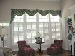 Large Living Room Window Treatment Window Treatment Ideas For Large Living Room Best Decorating