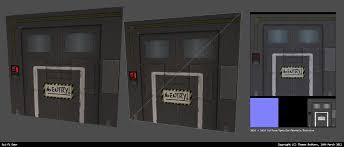 Sci Fi Door by MrNinjutsu on DeviantArt