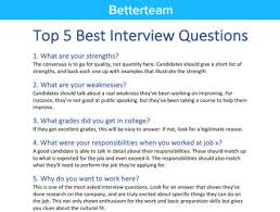 Job Weaknesses Examples Manager Interview Questions