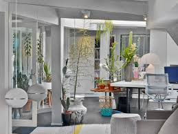 eclectic design home office. Eclectic Design Home Office. Plants Grow Well In This Office | Nonagon.style