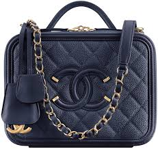 chanel vanity case bag. chanel-cc-filigree-vanity-case-bag chanel vanity case bag .