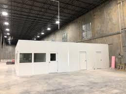 warehouse mezzanine modular office. Modular Office In Warehouse Mezzanine