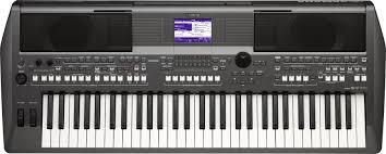yamaha electric keyboard. yamaha psr-s670 61-key arranger workstation image 1 electric keyboard