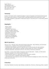 Tss Worker Sample Resume
