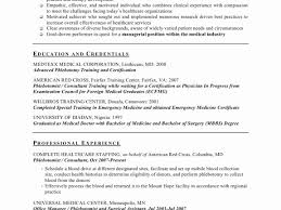 Resume Cover Letter Template Phlebotomy Sample Resume Luxury Samples Resume Cover Letter 99
