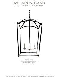 popular lighting fixtures. grande lantern mclain wiesand popular lighting fixtures