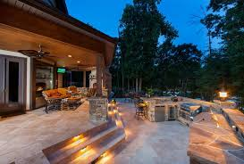 covered patio lighting ideas. Image: One Kind Design Covered Patio Lighting Ideas
