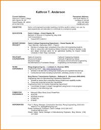 Free Resume For Stu Templates Highschool Students Best Basic ...