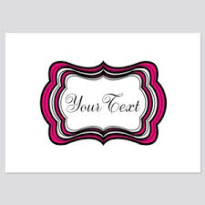 Hot Pink Invitations And Announcements Cafepress