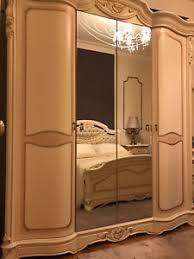 italian luxury bedroom furniture. Image Is Loading ITALIAN-LUXURY-BEDROOM-SET-WARDROBE-BED-BEDSIDE-CABINET- Italian Luxury Bedroom Furniture