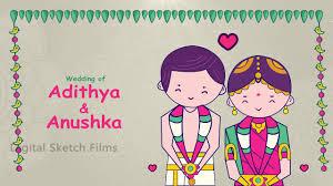 Tamil Brahmin Wedding Invitation Video Youtube